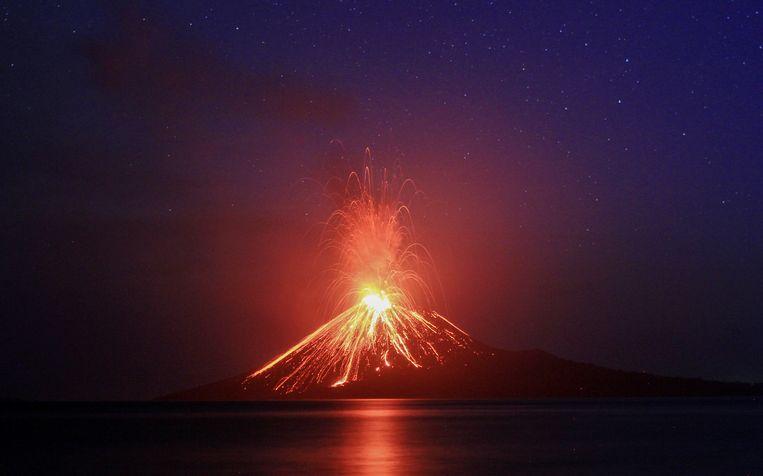 De Anak Krakatau.