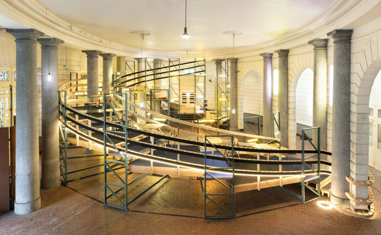 Deze plek in de Opera aan de Kouter wordt de place to be