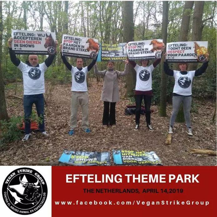 Actievoerders Vegan Strike Group