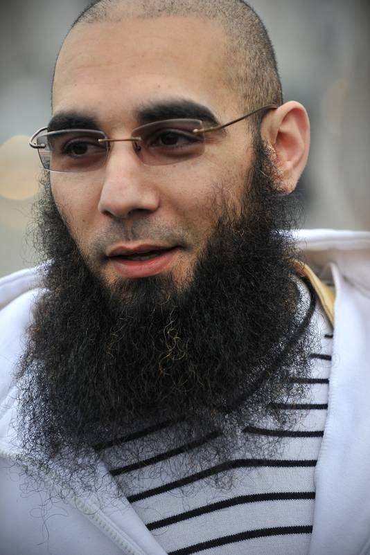 Fouad Belkacem, woordvoerder van Sharia4Belgium.