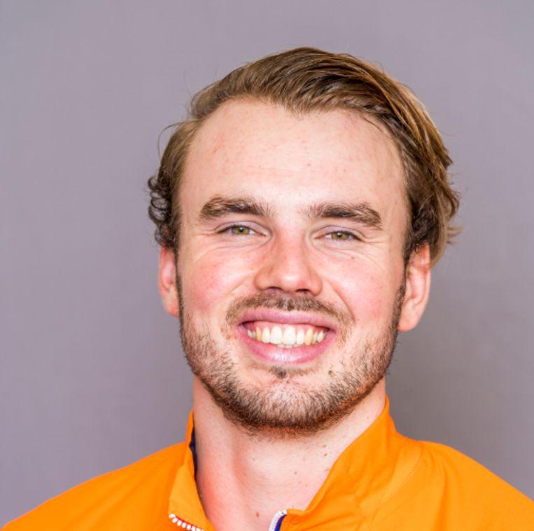 Roeier Maarten Hurkmans. Beeld ANP