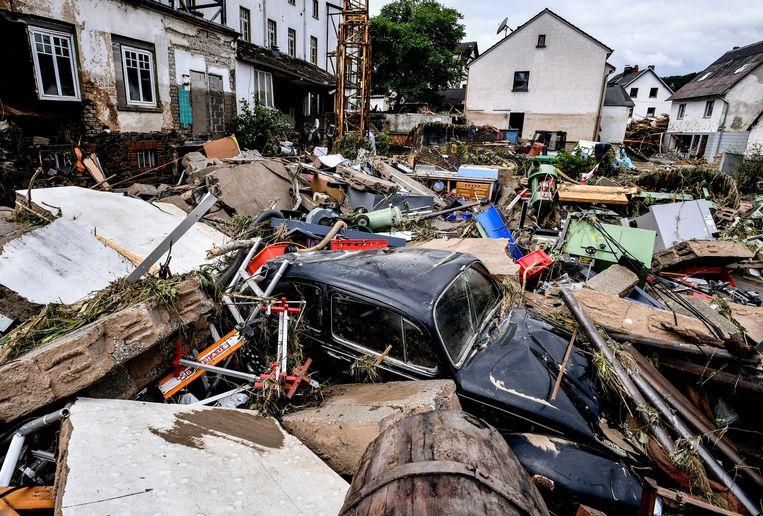 De verwoesting is ongezien Beeld EPA