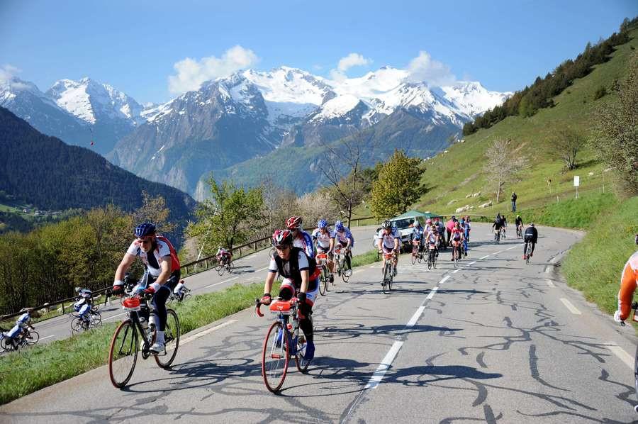 Alpe d'Huzes 2013, begin juni.