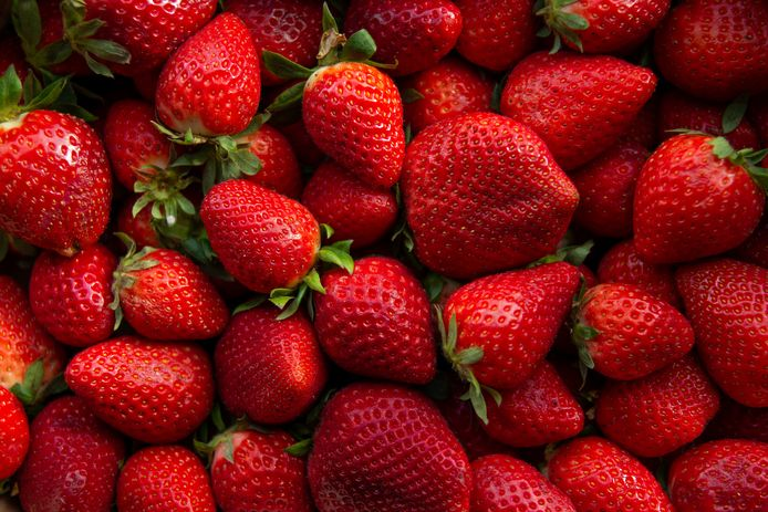 Aardbeien.