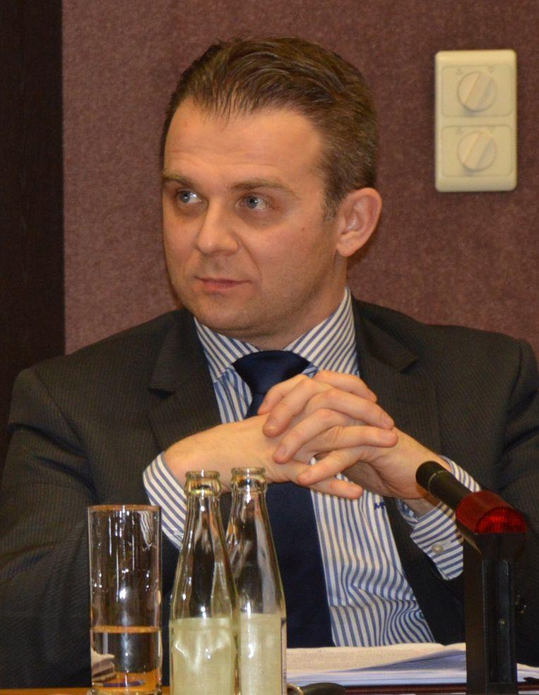Kristof Slagmulder, lijsttrekker van Vlaams Belang.