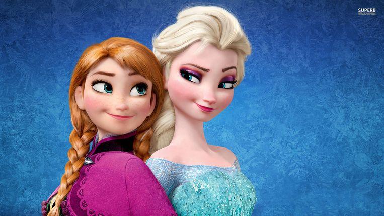 Anna en Elsa/ Beeld Kos