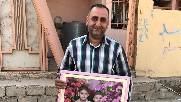 Midden-Oostencorrespondent Ana van Es bezocht bevrijde dorpen rondom Mosul Beeld