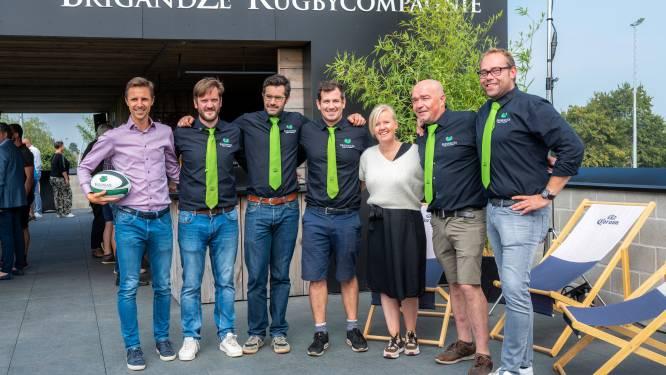 Nieuw gebouw rugbyclub BrigandZE met vertraging plechtig geopend