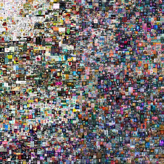 EVERYDAYS: THE FIRST 5000 DAYS van kunstenaar Beeple.