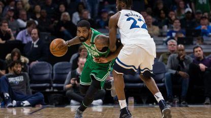 Boston heeft ticket voor play-offs op zak na sterke prestatie Kyrie Irving