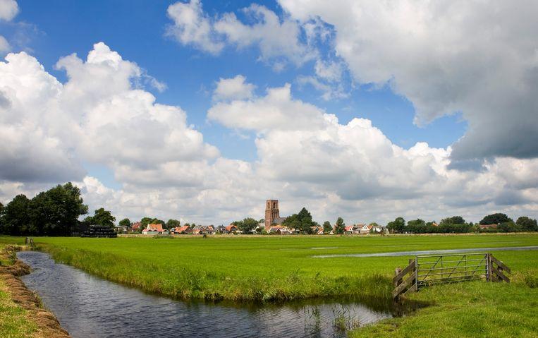 Wolkenlucht boven Ransdorp, Noord-Holland. Beeld ANP