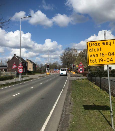 Weg van Volkel naar Boekel (N605) dit weekend afgesloten