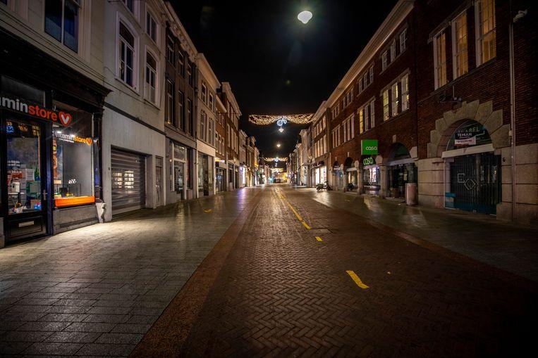 Hinthammerstraat in Den Bosch. Beeld Raymond Rutting / De Volkskrant
