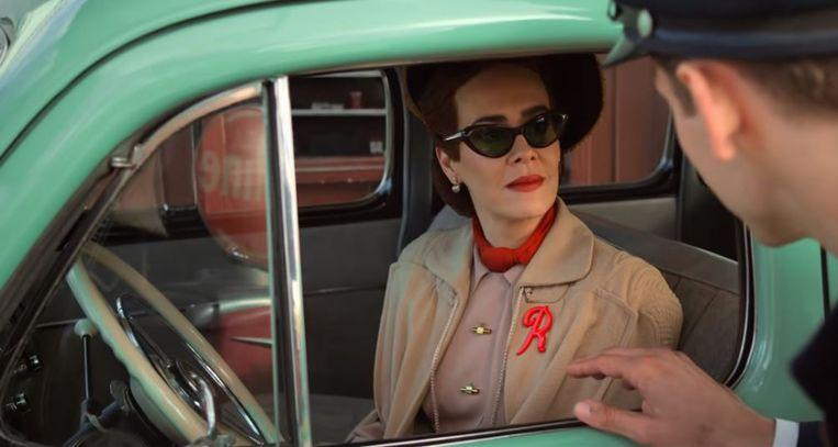 Sarah Paulson als Nurse Ratched. Beeld