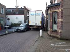 Proef met minder vrachtverkeer op dijk tussen Gouderak en Ouderkerk werpt zijn vruchten af