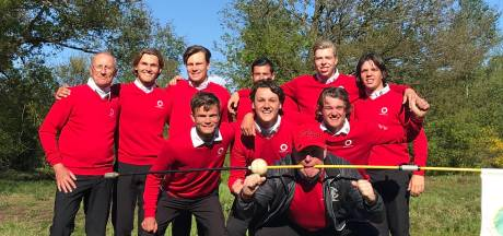 Golfers Rosendaelsche landskampioen na winst op titelverdediger