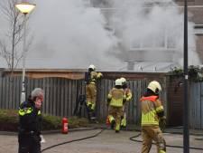 Zwaargewonde bij ontploffing in schuur in Breda, waarschijnlijk opzettelijk veroorzaakt met gasflessen