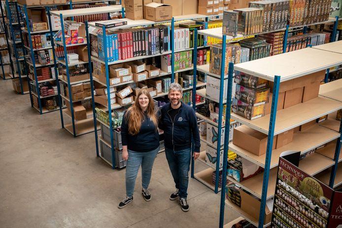 Sarah en Sven van 'Het Spelhuis'.