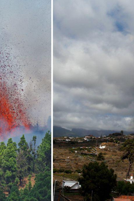 """Volcan aux Canaries: """"Le bruit, c'est l'équivalent de vingt avions de chasse qui décollent"""", 6.000 personnes évacuées"""