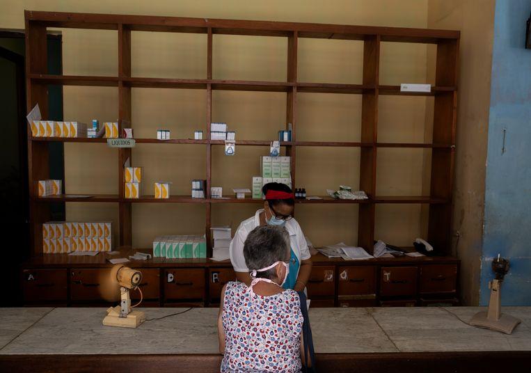 Apotheker in Havana, Cuba. Beeld AP