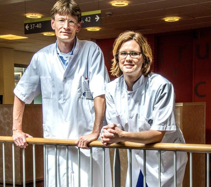 Laurens Beerepoot en Annet Coumou