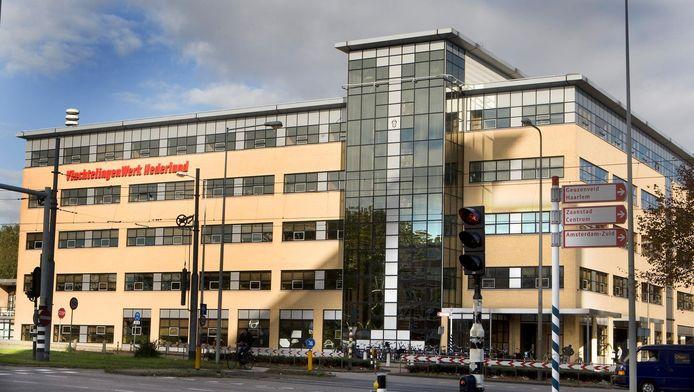 Het hoofdkantoor van VluchtelingenWerk Nederland, een van de sterkste stijgers in het merkenonderzoek van dit jaar.