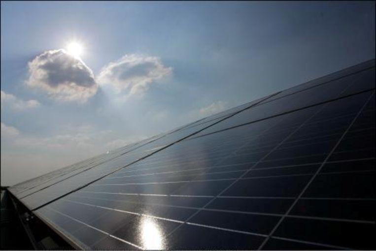Zonnepanelen werden door NASA begin jaren '80 ontwikkeld. Beeld UNKNOWN