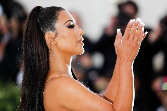 Kim Kardashian staat erom bekend naakte foto's te posten.