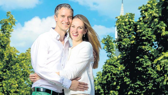 Danny en zijn vrouw Charlotte. 'Als kankerpatiënt moet je assertief zijn.'