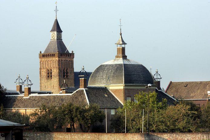 Het Hofje van Mevrouw van Aerden in Leerdam.