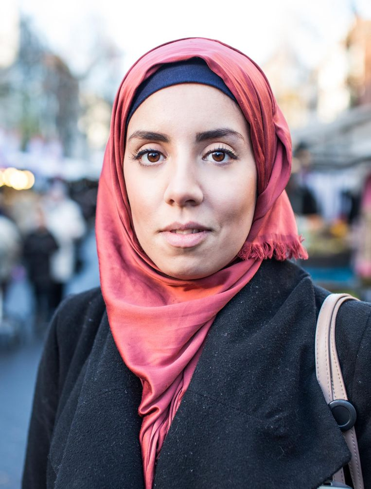Houda Benali (23) Beeld Eva Plevier