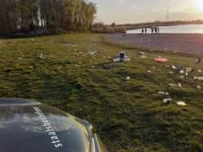 Boswachters schrikken van afvalberg in de Biesbosch: 'Dit probleem wordt alleen nog maar groter'