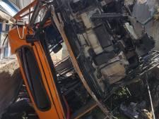 Vele gewonden nadat minibus op Capri in ravijn stort op strandtent, chauffeur overleden