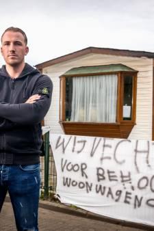 Johan moet gekraakte woonwagenstandplaats verlaten: 'Maar mijn strijd gaat door'