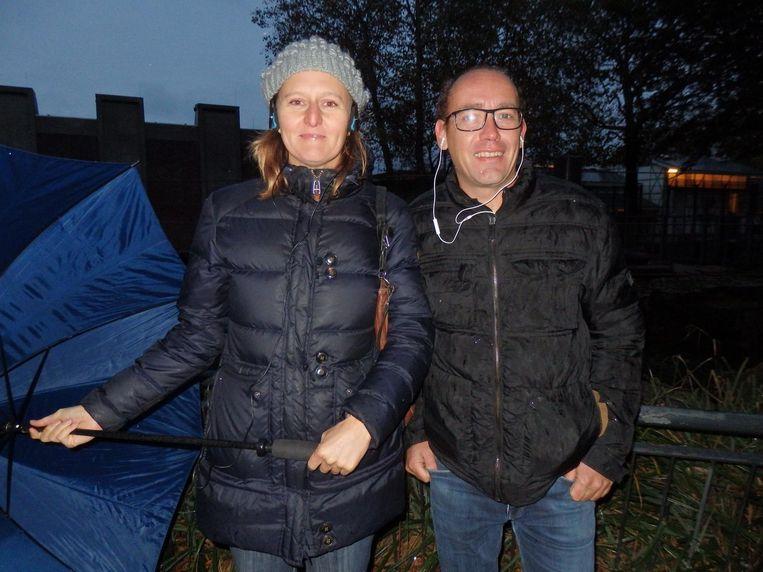 Tanja van der Lelie en Ruud van Borkulo, van What's up with Amsterdam. 'Ja leuk, maar het gaat nergens over. Je hoort alleen maar: 'Ooooo, waar is het geluid'' Beeld Schuim
