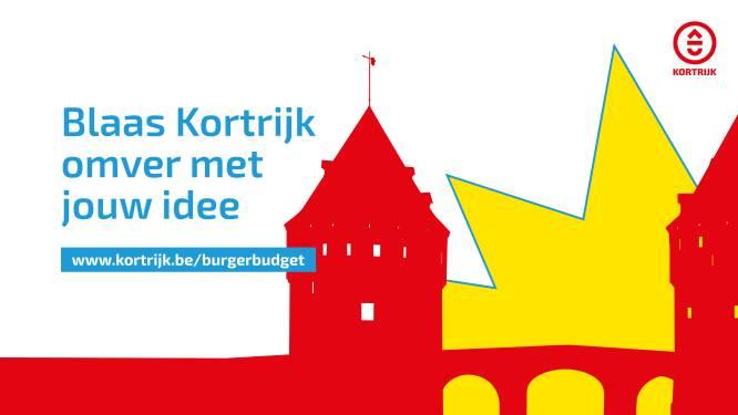 Blaas Kortrijk omver met joúw idee: Stad pompt 100.000 euro in nieuw Burgerbudget