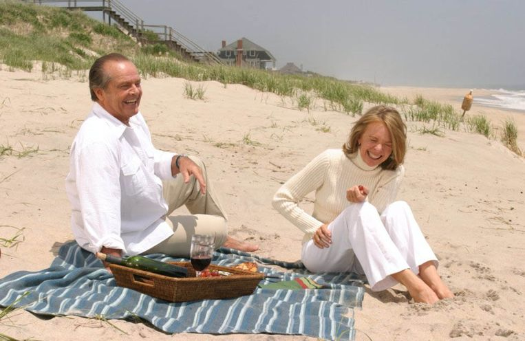 Jack Nicholson en Diane Keaton in Something's Gotta Give. Beeld