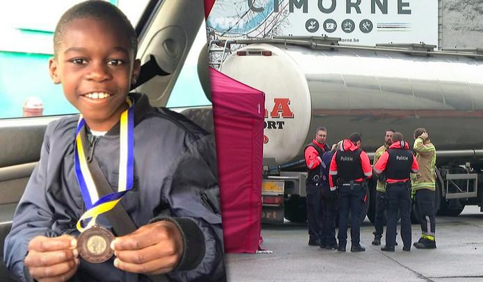 De 11-jarige Celio kwam vanochtend om het leven in het centrum van Aalst.