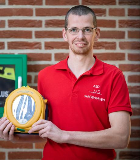Sander Voogsgeerd heeft een hart dat klopt voor AED's