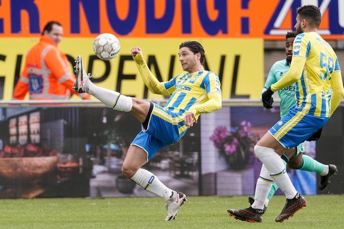 Paul Quasten speelde een prima uurtje voor RKC tegen Willem II.