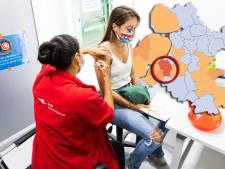 KAART | Opleving aantal positieve tests in Oost-Nederland, vooral in deze gemeente is het weer raak