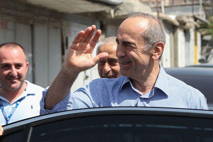 De Armeense ex-president Robert Kotsjarian.