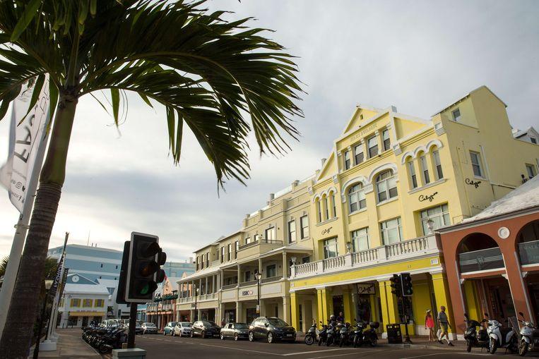 Belastingparadijs Bermuda. Beeld AFP