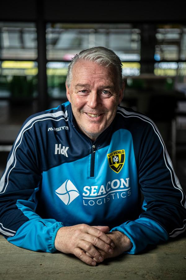 VVV-trainer Hans de Koning.