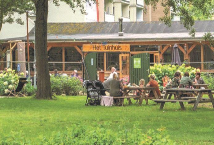 Het Tuinhuis in Dordrecht.