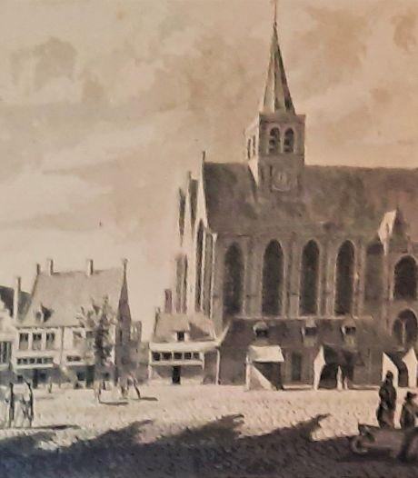 De oudste straat van Amersfoort? Dat is de Hof, al is het er behoorlijk veranderd