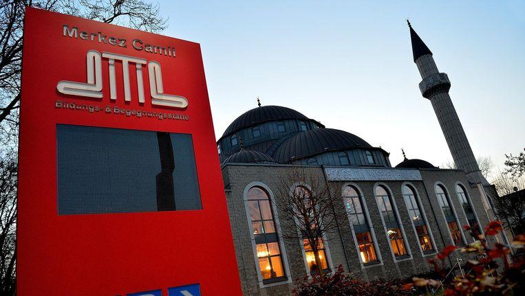Een Ditib-moskee in Duisburg. Beeld epa