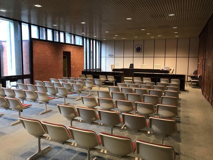 De rechtbank van Brugge.