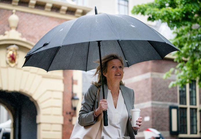 Minister Kajsa Ollongren (Binnenlandse Zaken) moet twee weken thuisblijven na een verblijf in coronarisicoland Zweden.