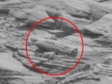 Un sarcophage égyptien découvert par la Nasa sur Mars?